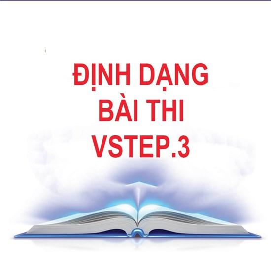 Định dạng đề thi Vstep.3